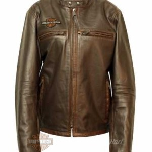 97015-20vh harley-Davidson giacca in pelle distressed leather