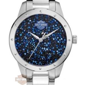 orologio harley-davidson bulova da donna crystal rock 76L188