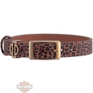hsb0213 woman's gold tone leopard bracciale