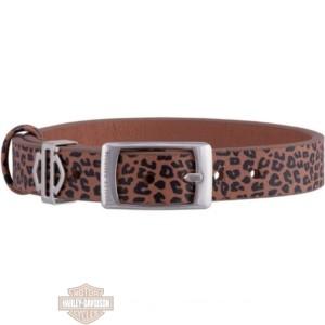 hsb0214 woman's silver tone leopard bracciale