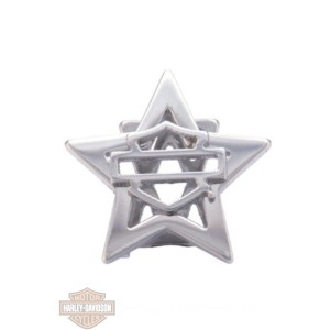 hsc0130 beads silver star b&s