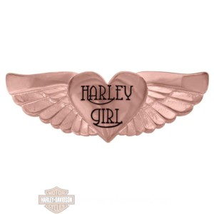 hsp0132 beads heart wing rose gold