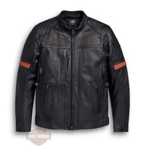 98000-20EM giacca in pelle impermeabile vanocker Harley-davidson