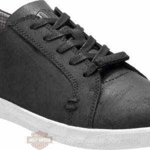 D96205 Sneakers da uomo in pelle nera Yorkton HDMC® Harley-Davidson® da uomo 4