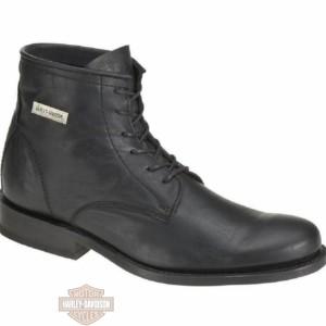 Stivali Harley-Davidson® Tarrson in pelle nera da uomo D92104
