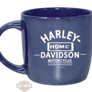 Tazza da caffè in ceramica Harley-Davidson® Blue City Lustre 3CLM4925