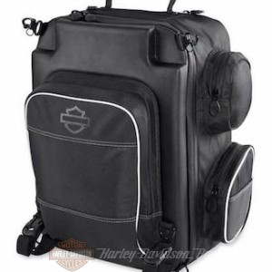 Harley-Davidson Onyx Premium Luggage Weekender Bag, Universal Fit-Black 93300105