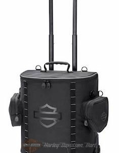 Onyx Premium Luggage Backseat Roller Bag - Black 93300126