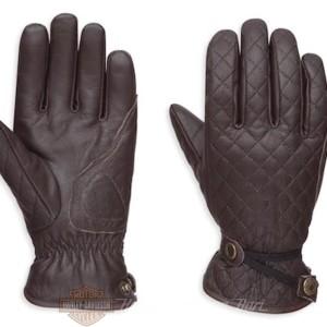 98368-17EW guanti in pelle Harley-Davidson Messenger da Donna
