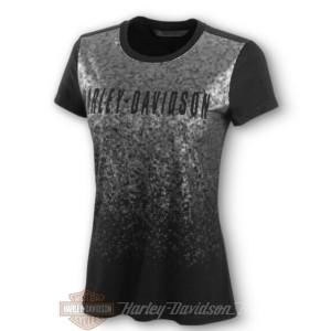 96236-20VW Harley-Davidson T-shirt da donna Metallic Print