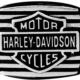 HSR0057 Harley-davidson anello black edge square