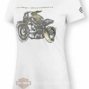 99076-20VW Harley-Davidson T-Shirt LiveWire a manica corta da Donna